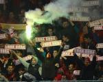 Ассоциация болельщиков Черногории не взяла на себя ответственность за бросок фай